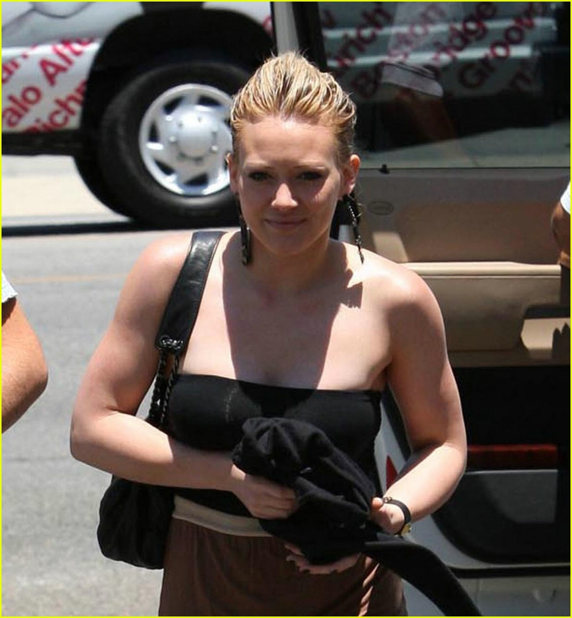 hilary duff bands brown 041202771
