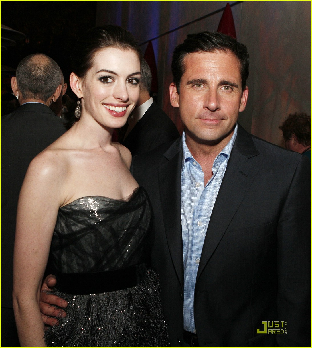 Anne Hathaway Boyfriend: Anne Hathaway Gets Smart With Her Boyfriend: Photo 1206631