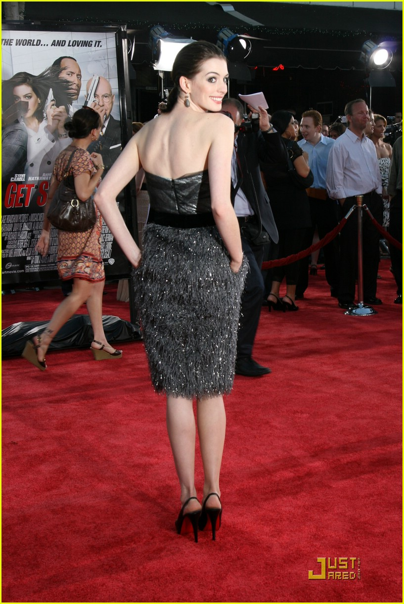 anne hathaway get smart world premiere 261206851