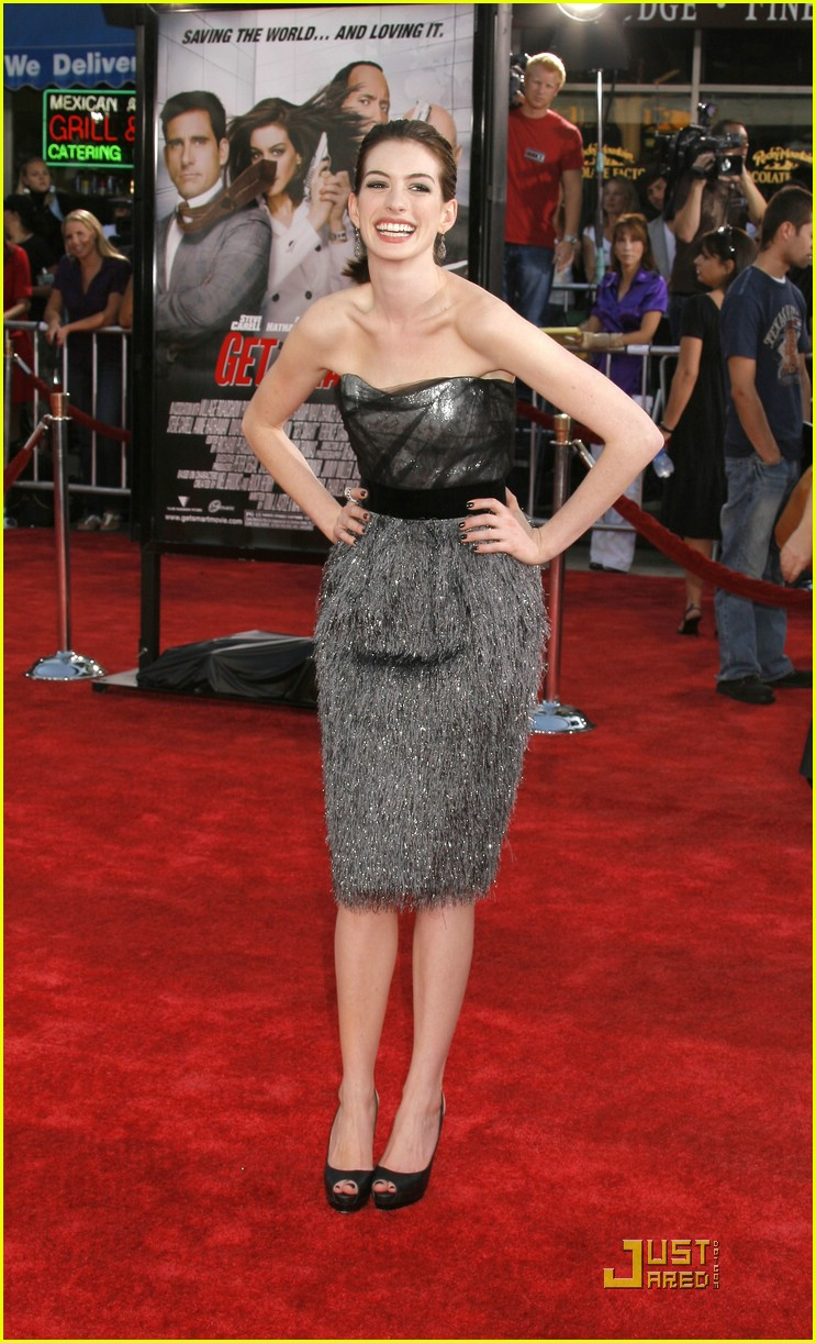 anne hathaway get smart world premiere 331206921