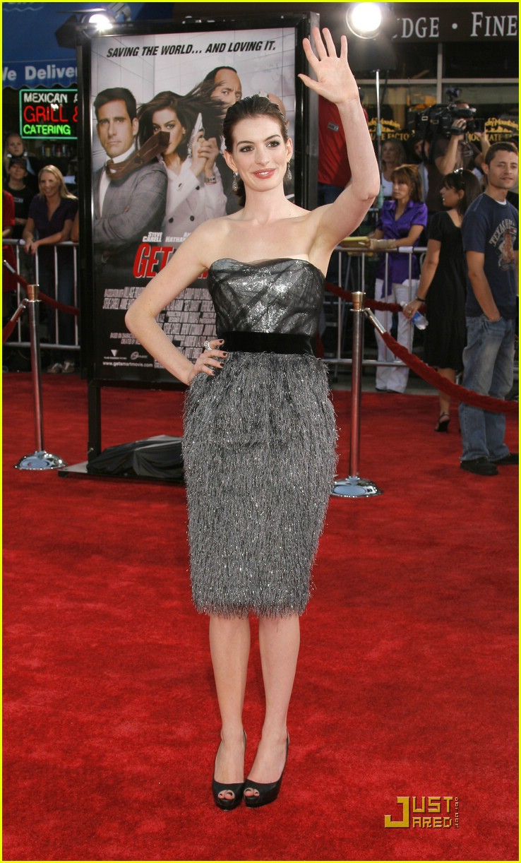 anne hathaway get smart world premiere 361206951