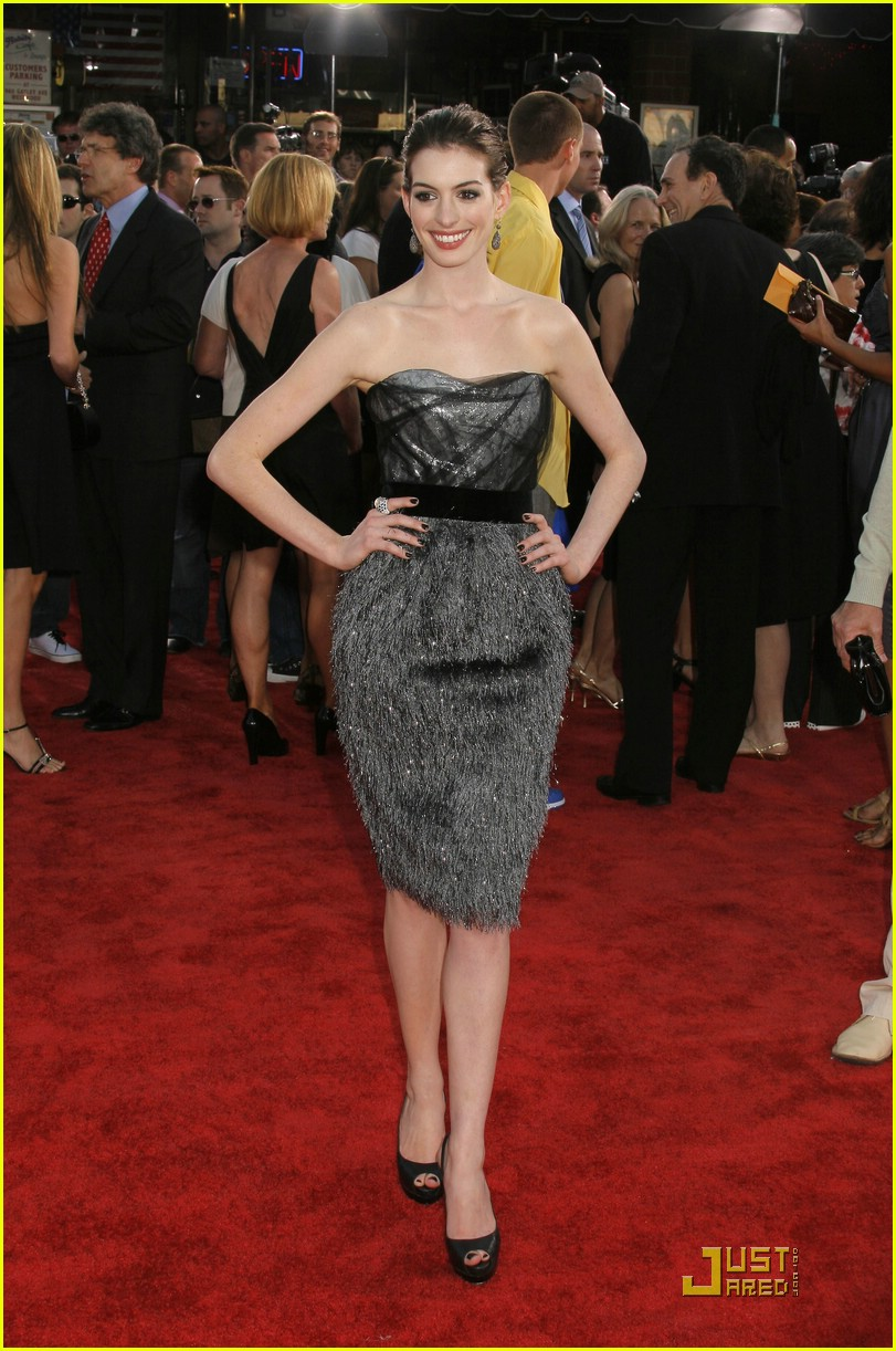 anne hathaway get smart world premiere 391206981