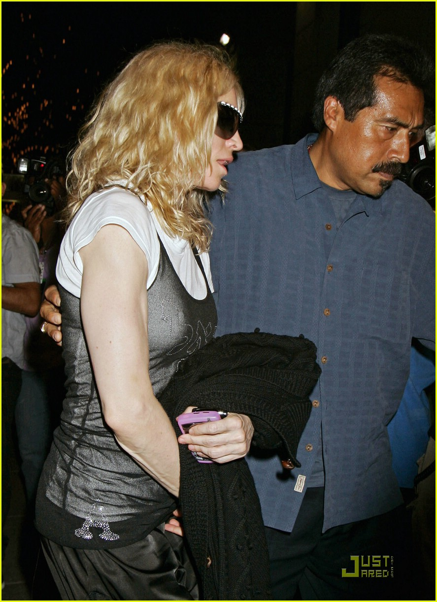 madonna mourning 08