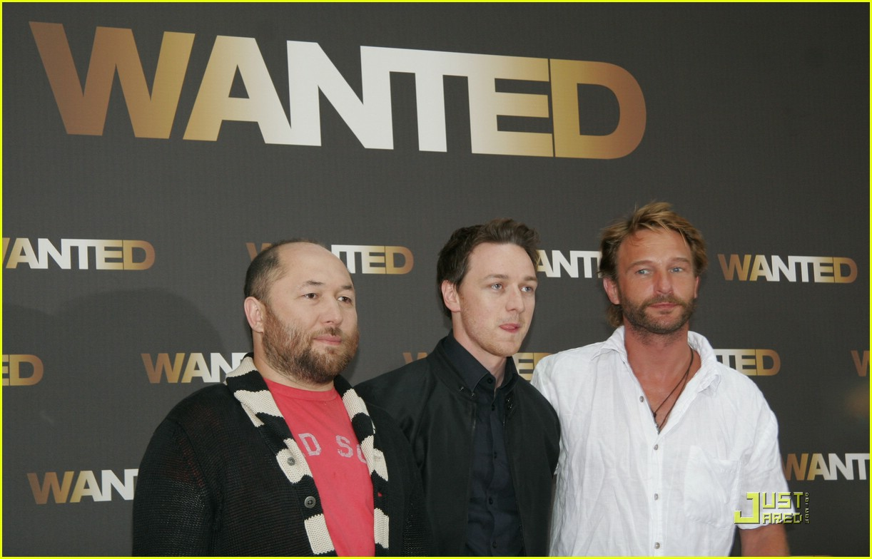 james mcavoy wanted photocall 031193721