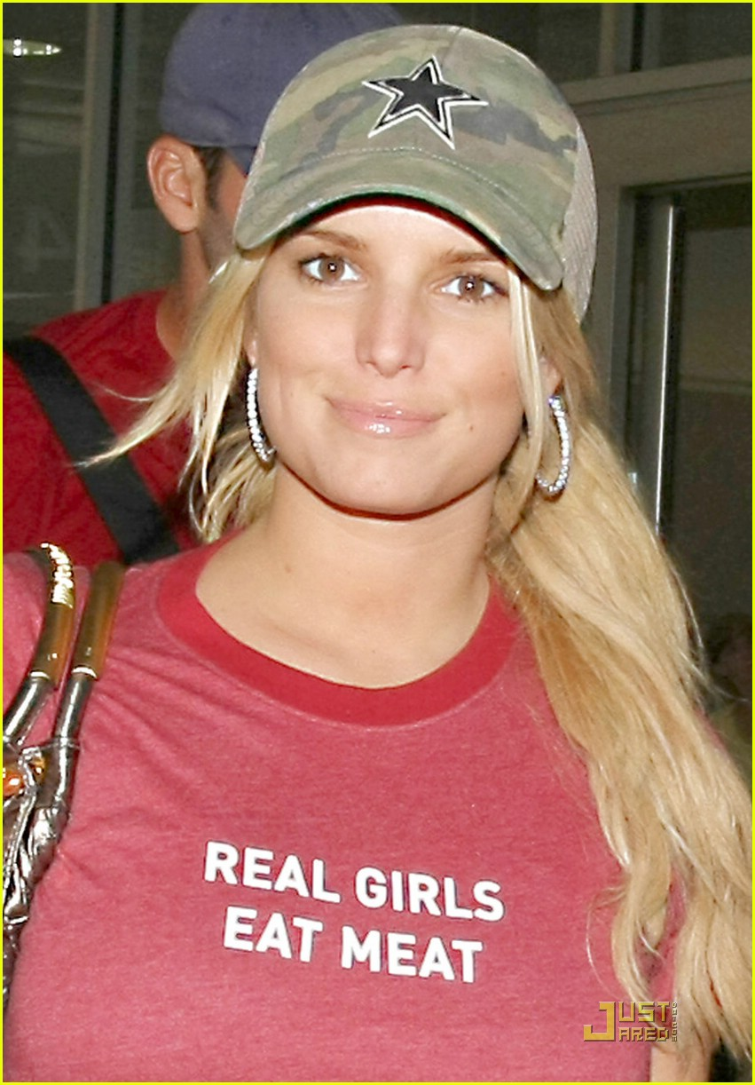 jessica simpson real girls eat meat 01