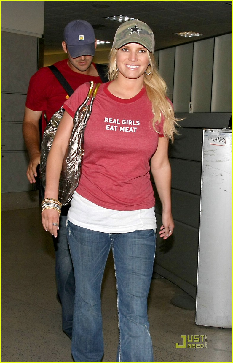 jessica simpson real girls eat meat 10