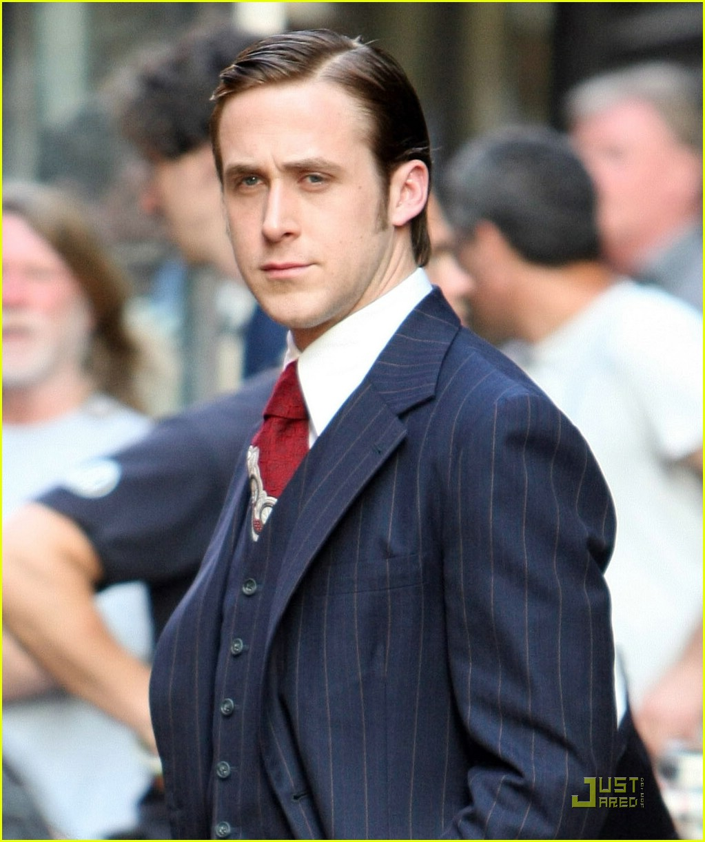 Ryan Gosling Suit Ryan gosling suits up nicely