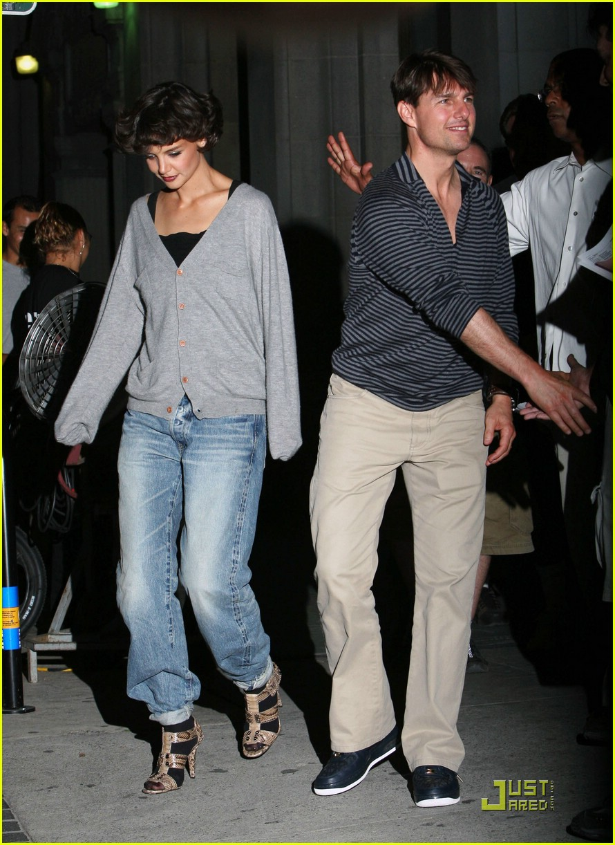 tom cruise and katie holmes meet