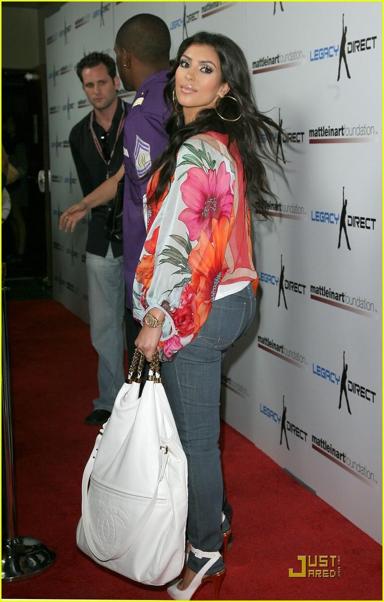 kim kardashian celebrity bowling 181282511
