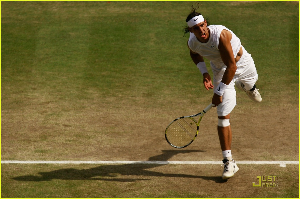 who won wimbledon rafael nadal 44