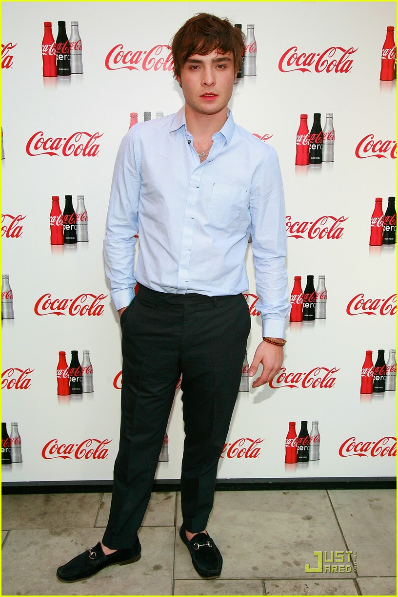 Ed Westwick is Coca-Cola Cool Ed Westwick