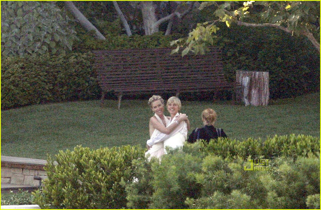ellen degeneres wedding pictures 021347601