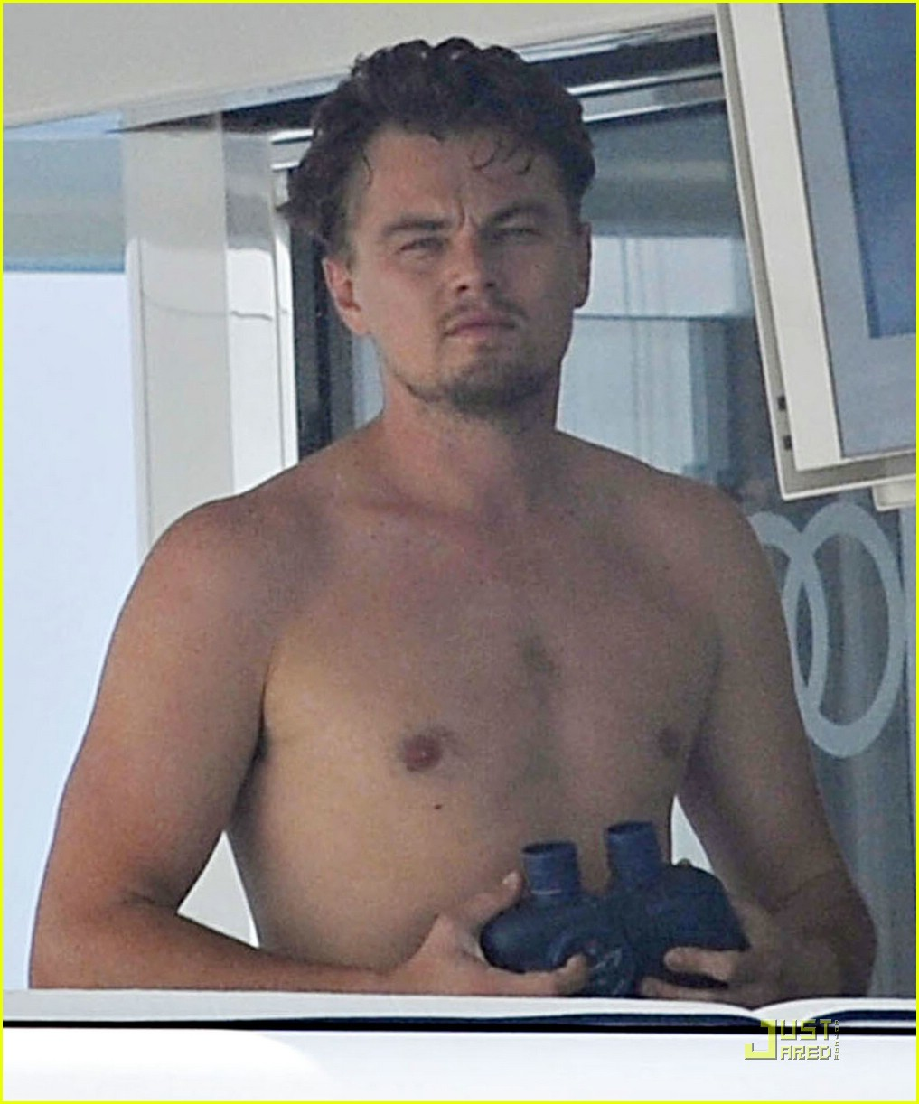 leonardo dicaprio shirtless 031312941
