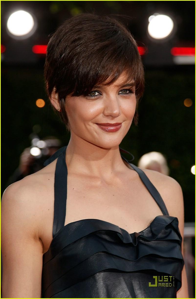 Katie Holmes Pixie Haircut