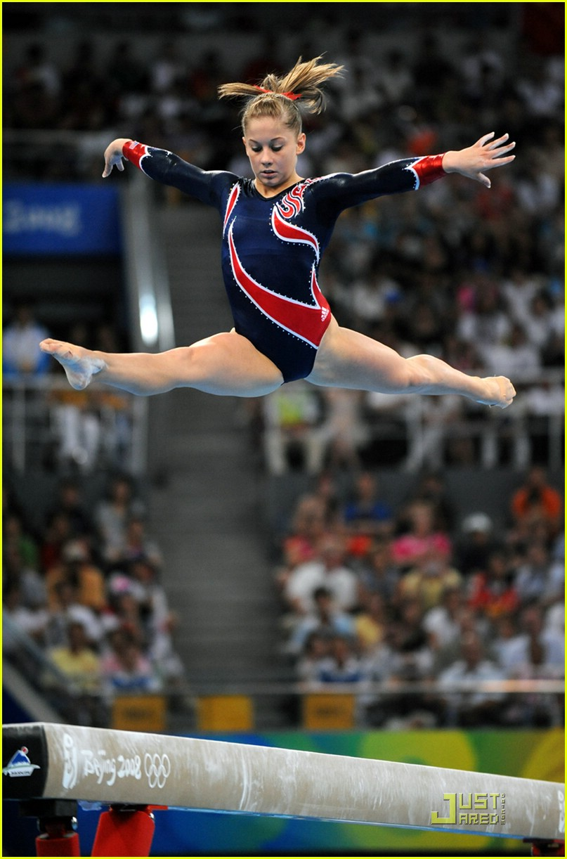 Shawn Johnson Is Gold Glorious Photo 1356981 Nastia