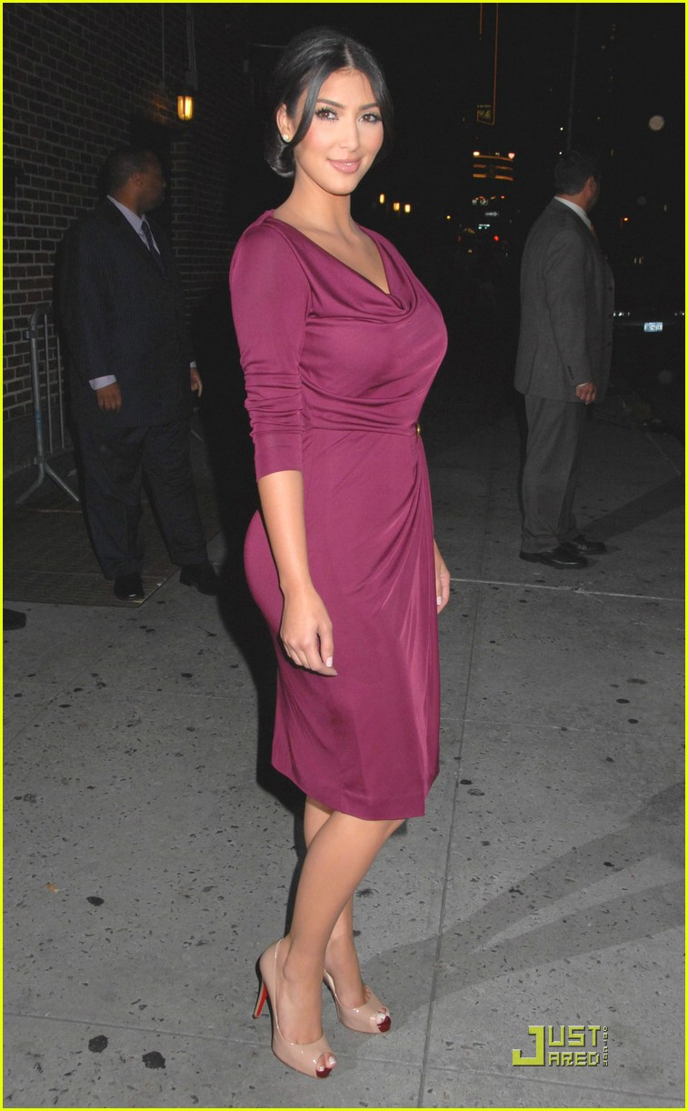 kim kardashian david letterman 251369801