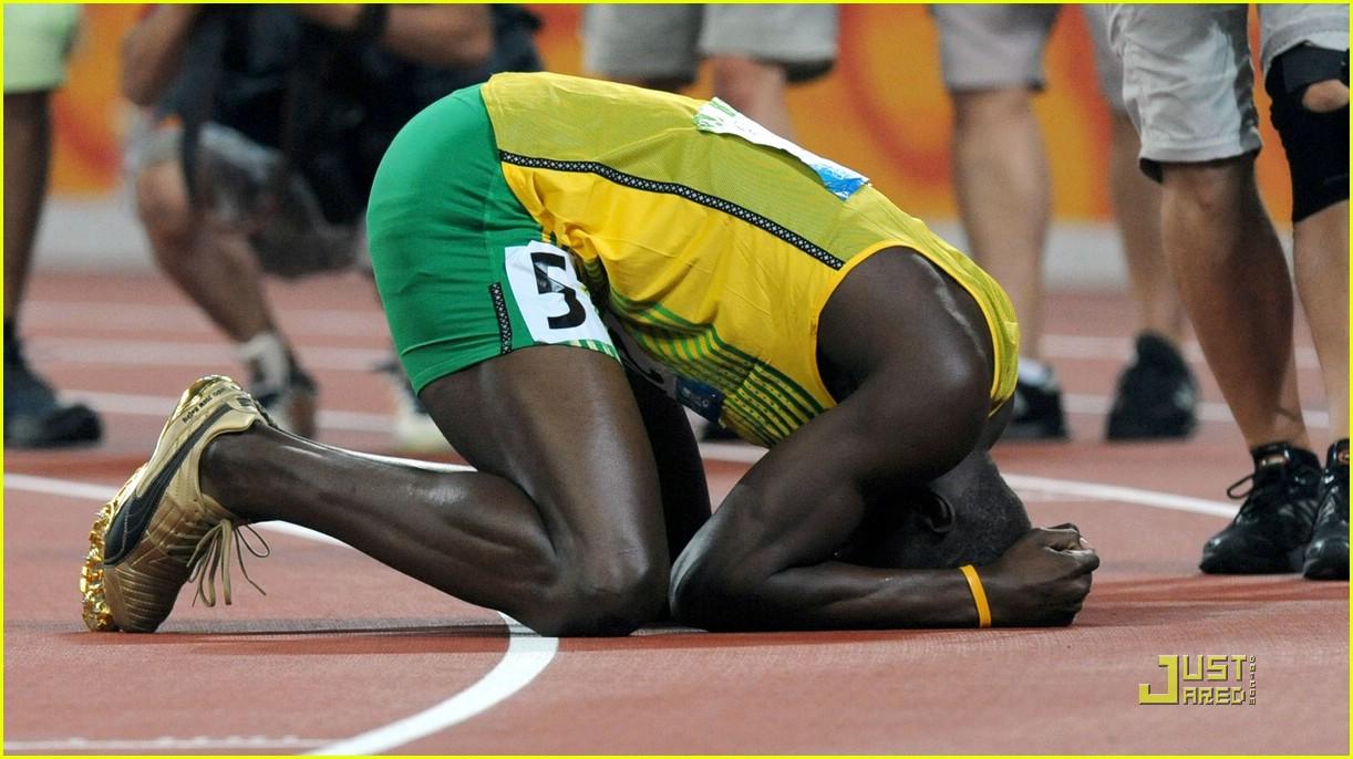 usain bolt beijing olympics 100m 200m 07