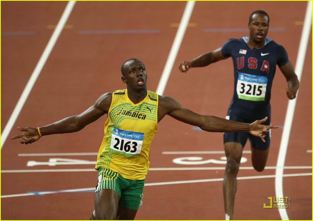 usain bolt beijing olympics 100m 200m 101358521