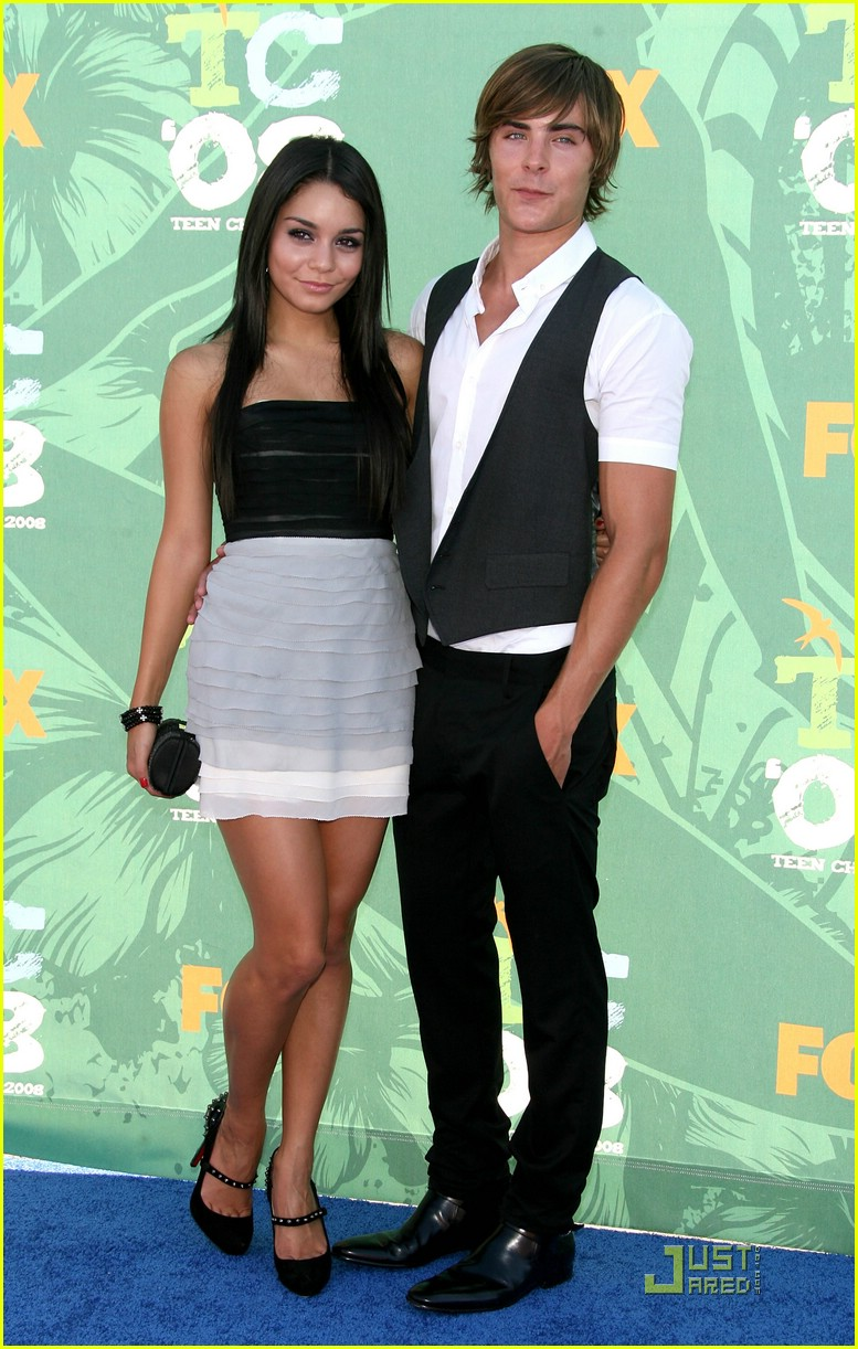 zanessa teen choice awards 2008 01