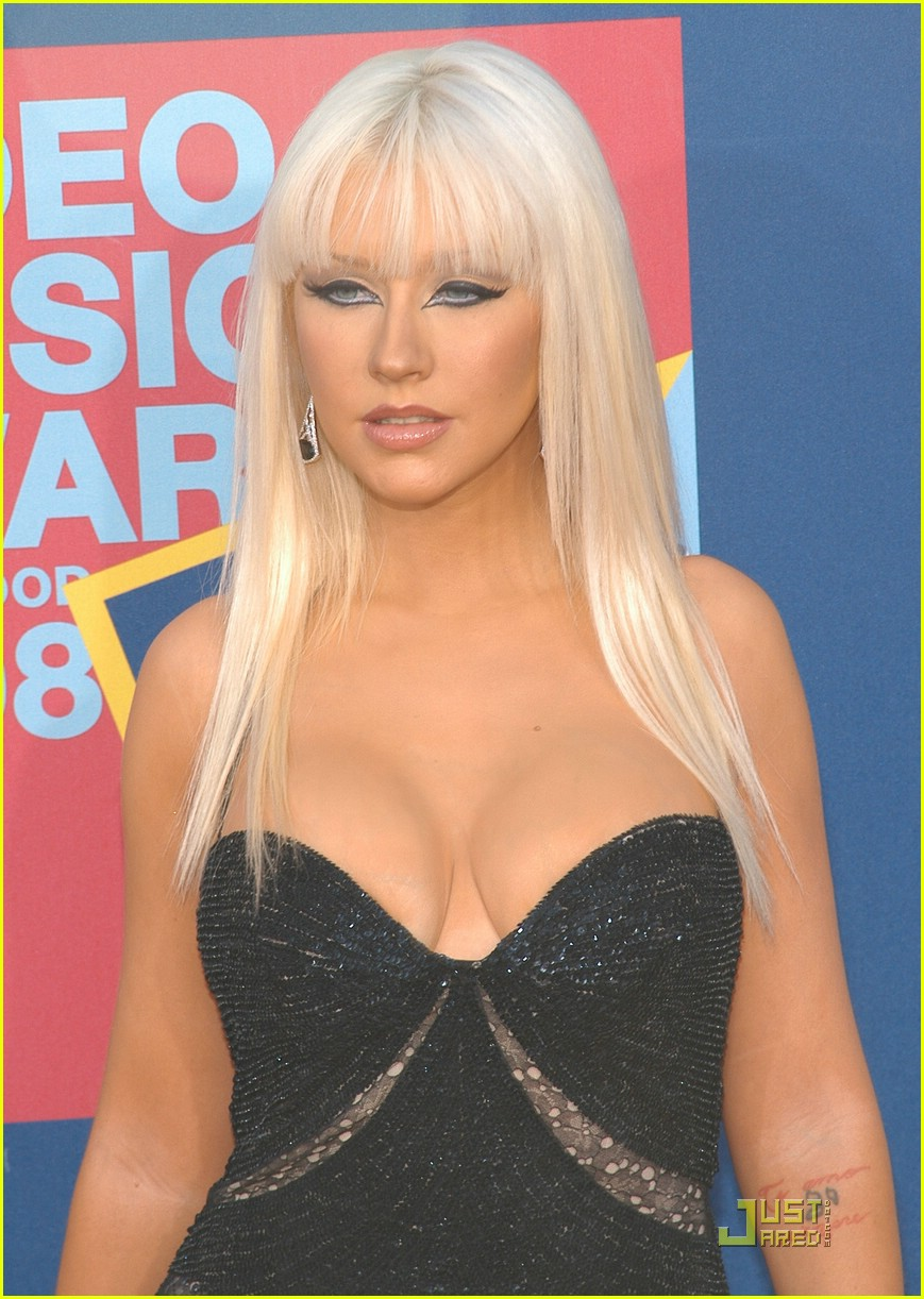 Christina aguilera mtv vmas 2008 photo 1404271 christina aguilera