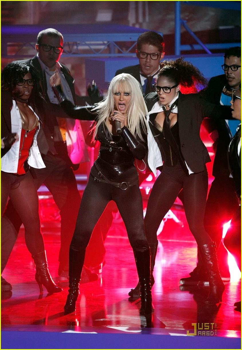 christina aguilera performance 2008 vmas 081404991