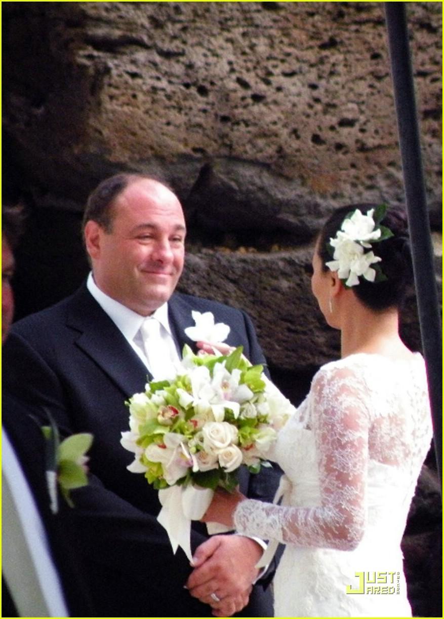 james gandofini wedding pictures 021383781