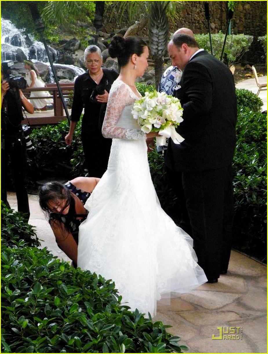 james gandofini wedding pictures 051383811