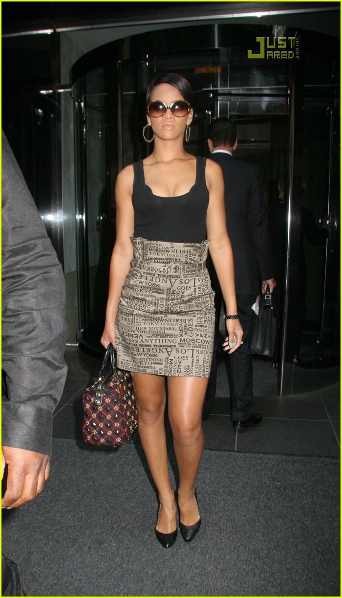 Rihanna wears Star Wars Phantom Menace skirt as she