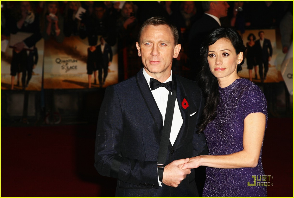 daniel craig quantum of solace world premiere 05