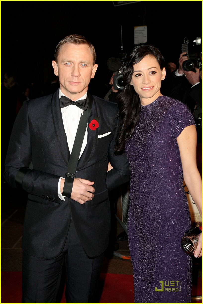daniel craig quantum of solace world premiere 091515061