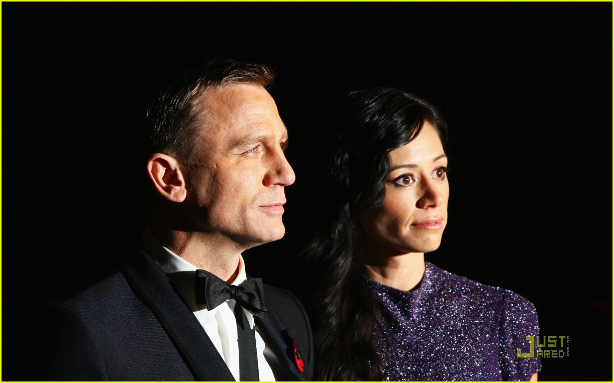 daniel craig quantum of solace world premiere 141515111