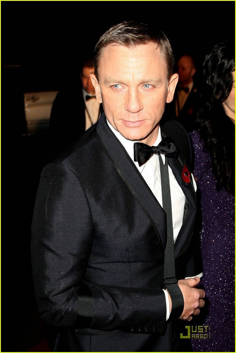 daniel craig quantum of solace world premiere 181515151