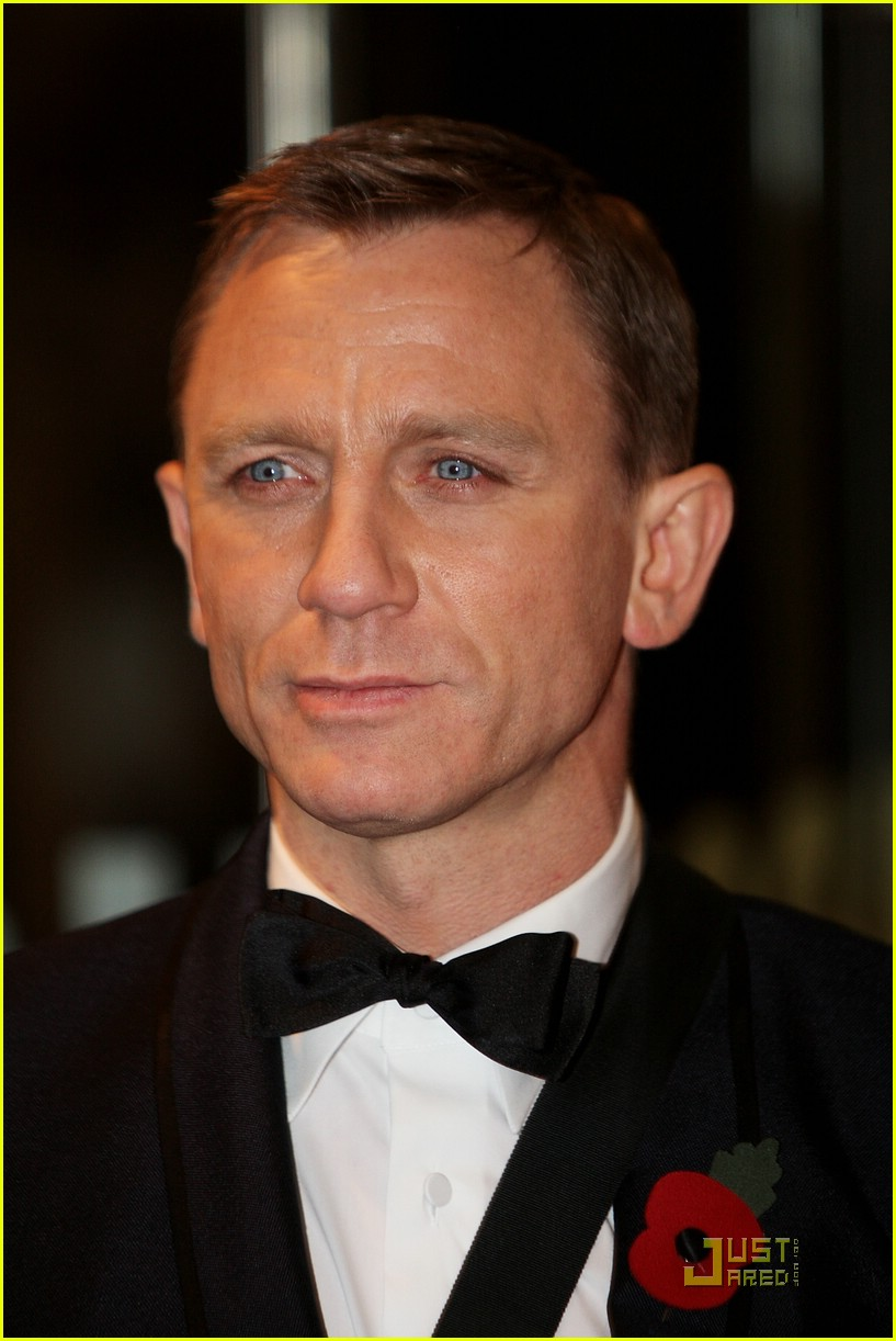 daniel craig quantum of solace world premiere 231515201