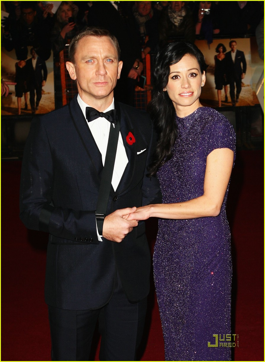 daniel craig quantum of solace world premiere 241515211