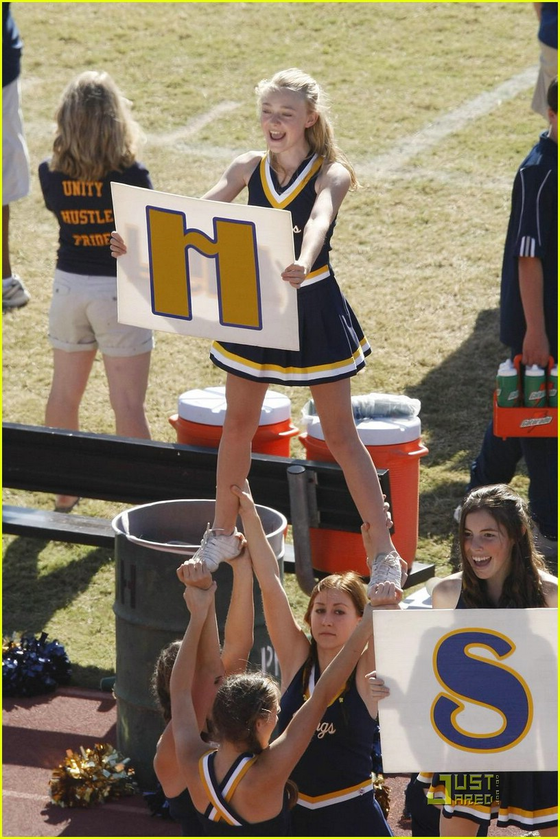 Elle Fanning Cheerleading Elle Fanning Photos | Just