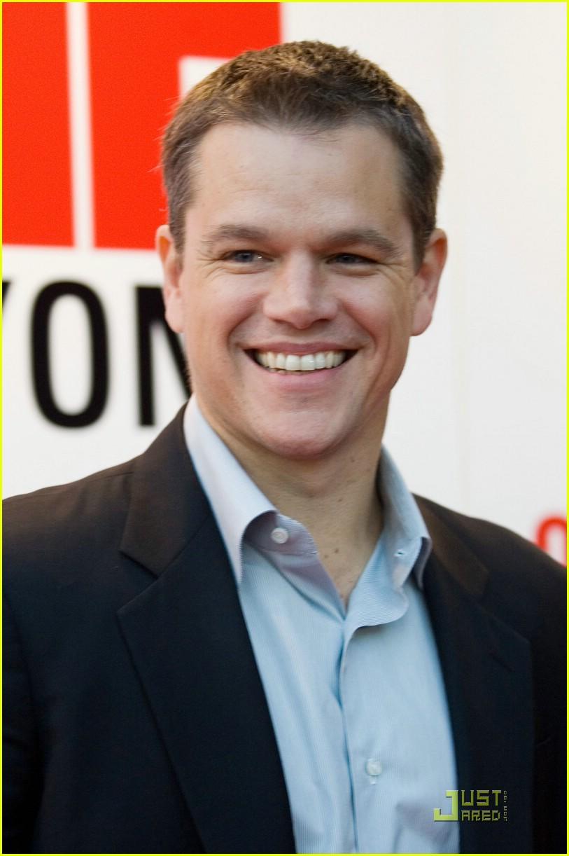 Matt Damon Travels One... Matt Damon