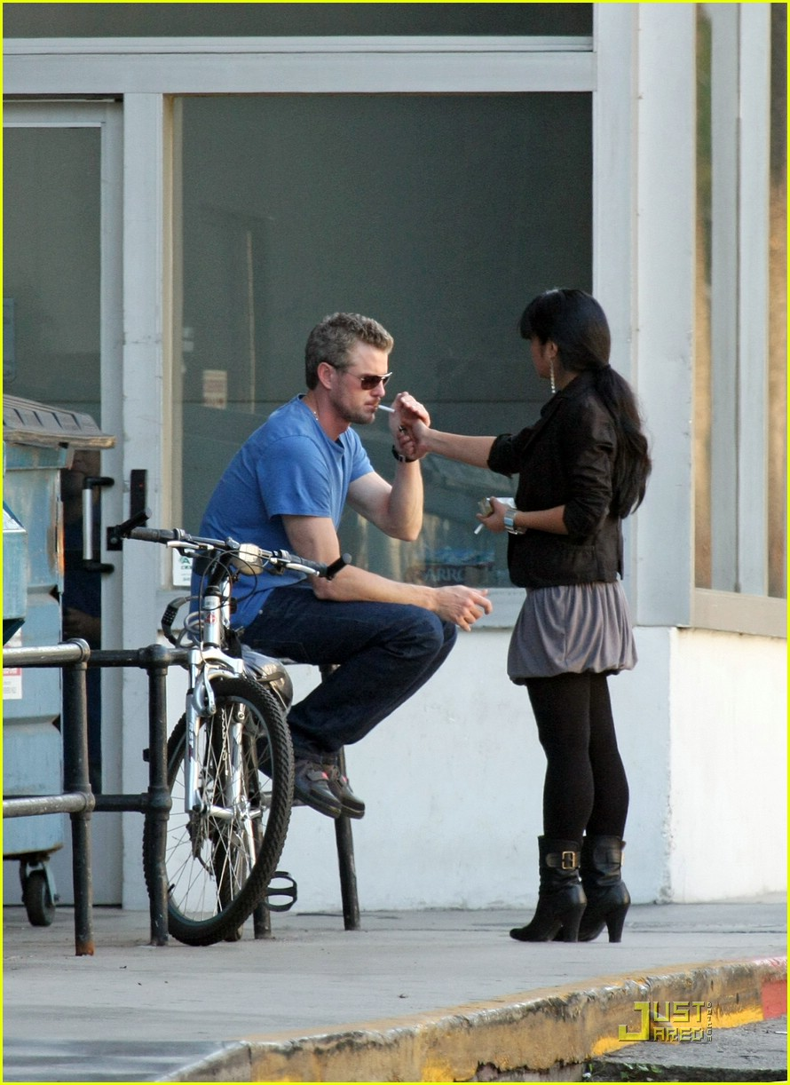 Mcsteamy Is Smokin Photo 1501121 Eric Dane Greys Anatomy