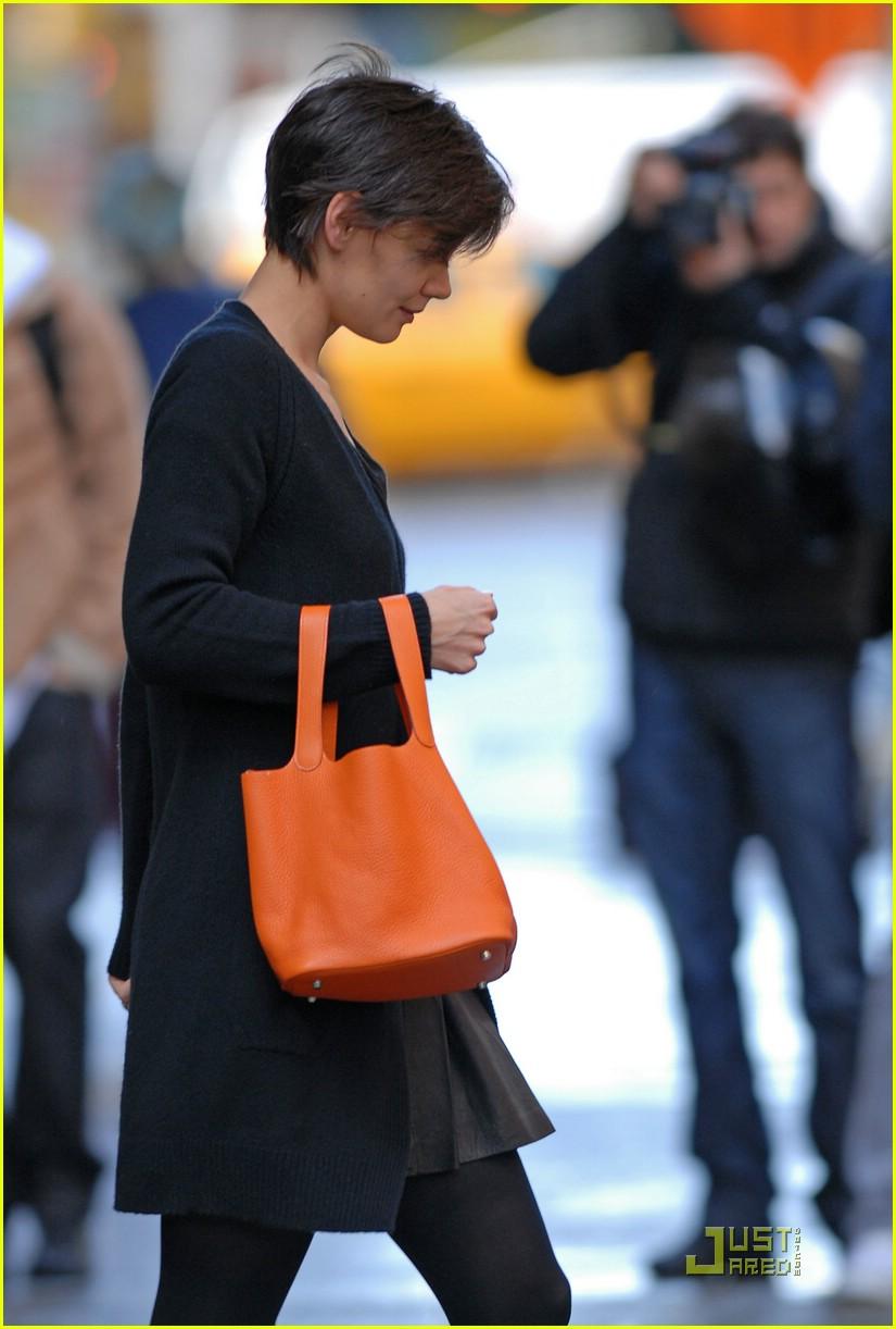 katie holmes orange bag 041514321