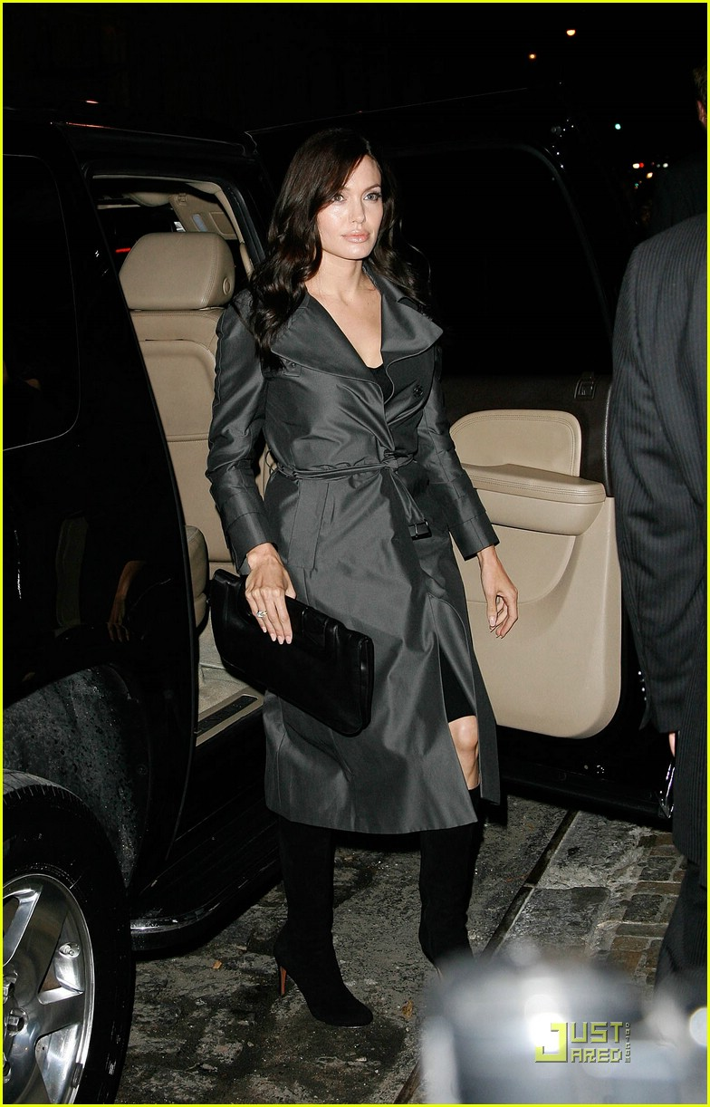 angelina jolie trench coat 071458571