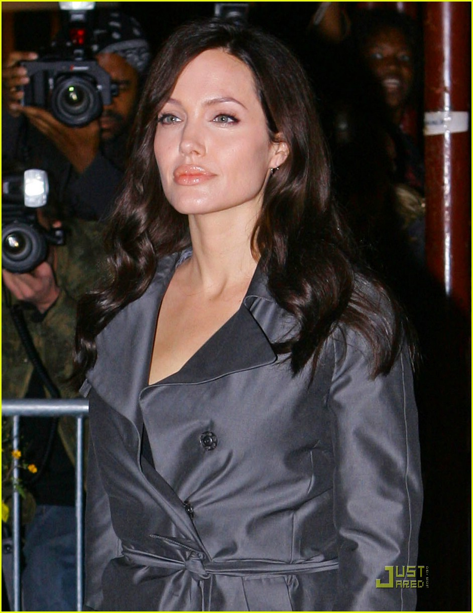 angelina jolie trench coat 221458721