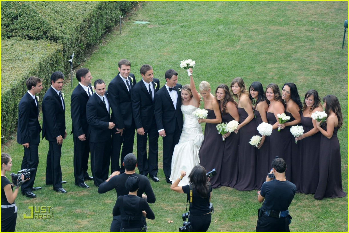 Beverley Mitchell Wedding Pictures First Look