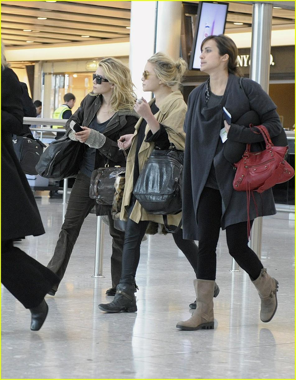 Gwyneth The Olsen Twins Travel Together Photo 1468461