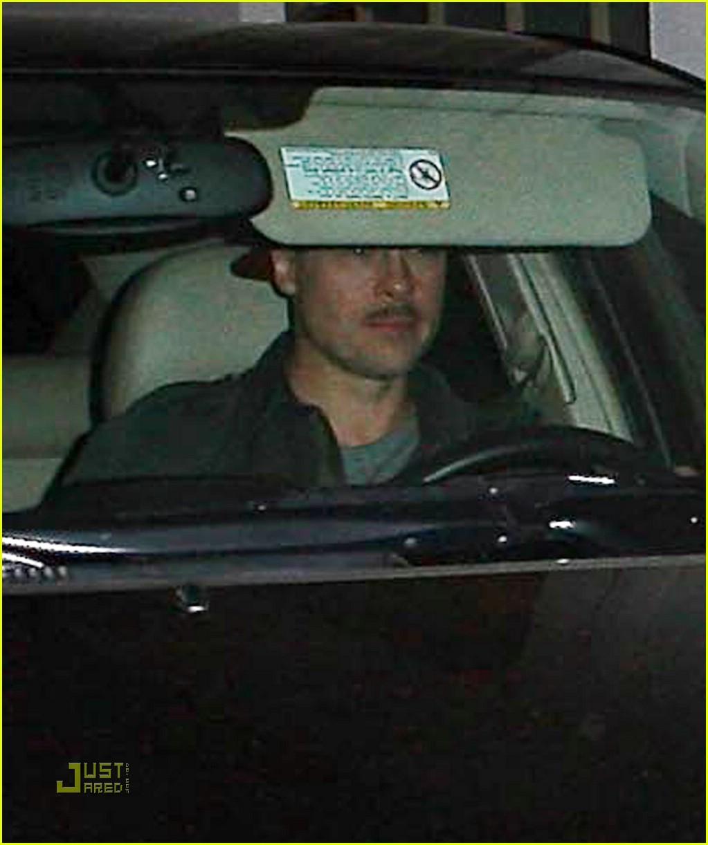 brad pitt mustache 021516381