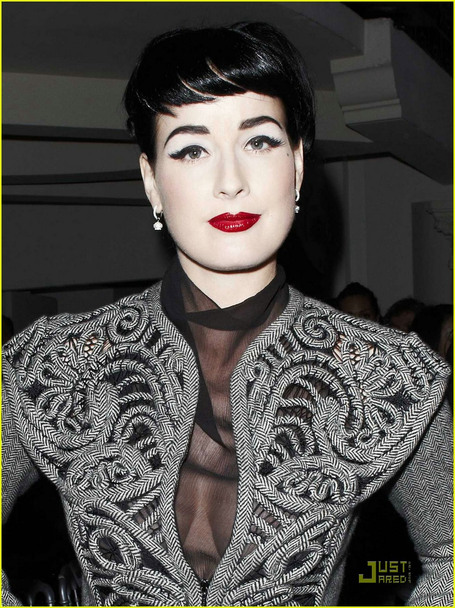 Dita Von Teese Celebrates Jean Paul Gaultier: Photo 1452321  Dita Von Teese  Pictures  Just Jared