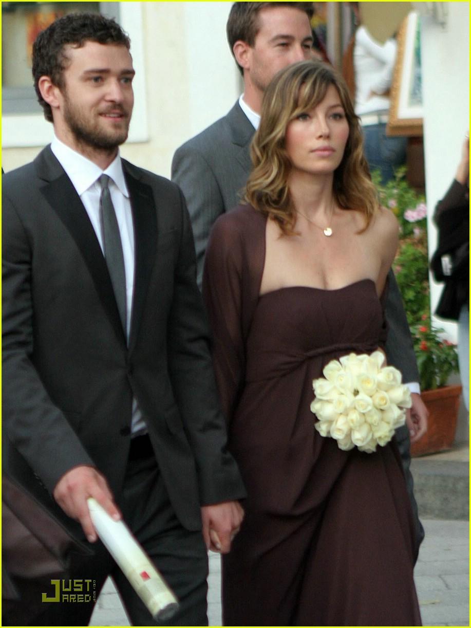 Justin Timberlake Attends Beverley Mitchell S Wedding