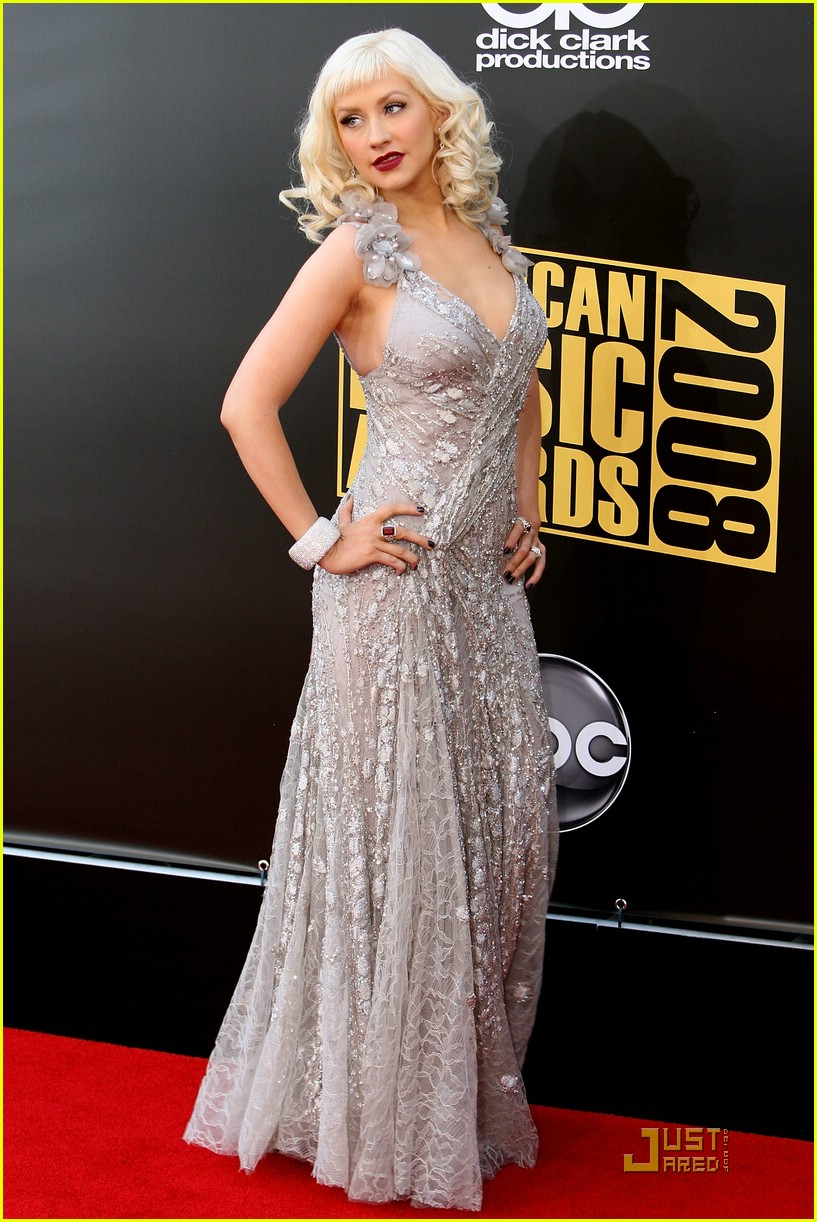 christina aguilera 2008 american music awards 031560381