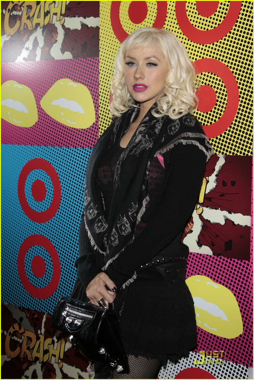 christina aguilera target a night of music 031561961