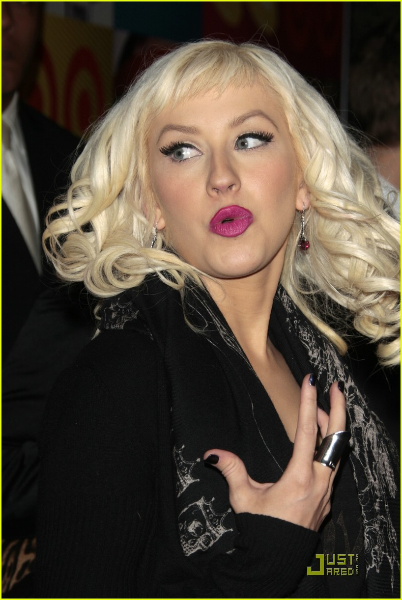 christina aguilera target a night of music 05
