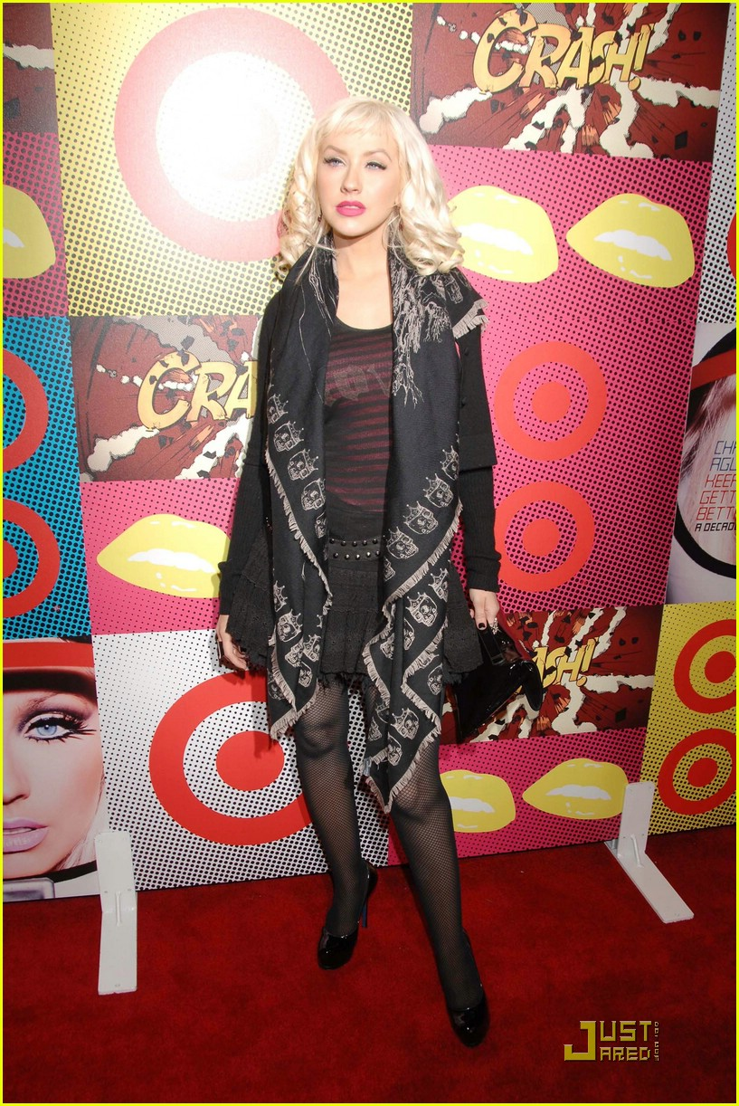 christina aguilera target a night of music 07