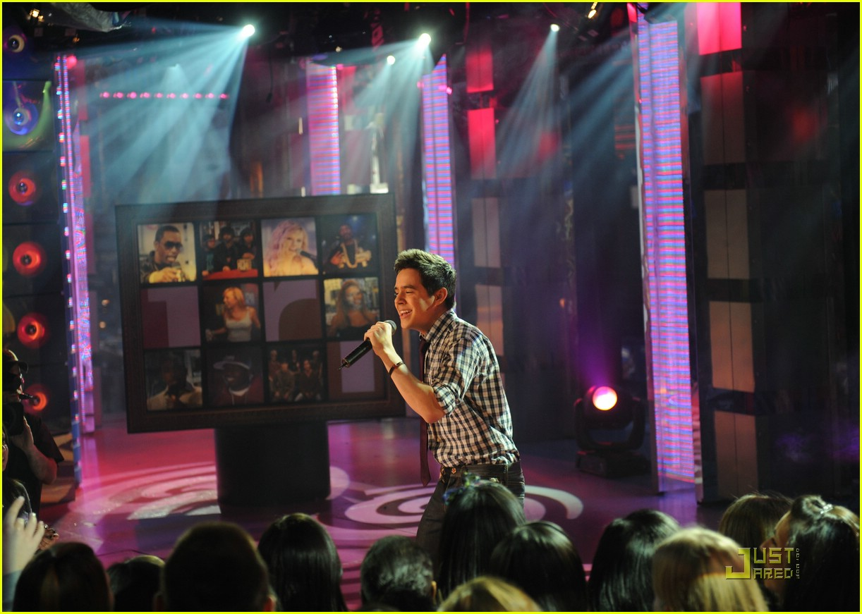 david archuleta mtv tl 10
